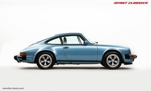 1986 PORSCHE 911 CARRERA 3.2 // IRIS BLUE WITH BLUE LEATHER  For Sale