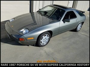 1987 Porsche 928 S4 Automatic Rare + Clean Slate Grey $19.9k For Sale