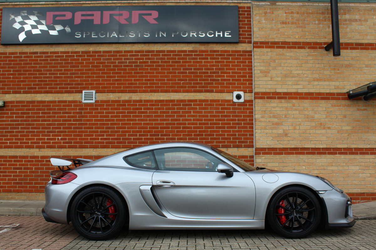 Porsche 981 GT4 Clubsport 2016 (16) For Sale (picture 2 of 6)