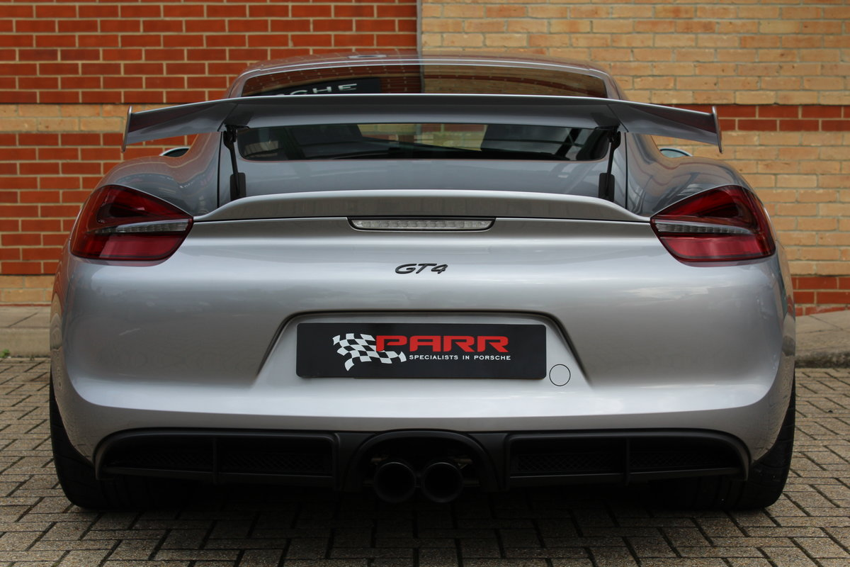 Porsche 981 GT4 Clubsport 2016 (16) For Sale (picture 4 of 6)