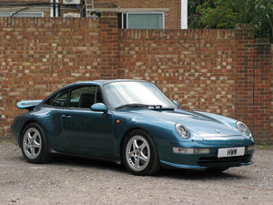 1996- PORSCHE 911, 993 C2 TARGA- PETROL BLUE For Sale