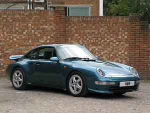 1996- PORSCHE 911, 993 C2 TARGA- PETROL BLUE
