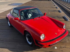 1985 Porsche 911 Carrera 3.2 Targa Euro-specs AC Red  $39.9k For Sale