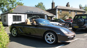 2007 PORSCHE BOXSTER (987) 2.7 SPORT EDITION TIPTRONIC SAT-NAV For Sale