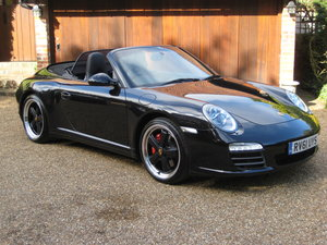 2011 Porsche 911 (997 Gen II) Carrera 4s PDK Cabriolet For Sale