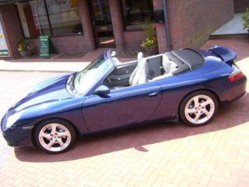 2003 Porsche 996 C4 Tip S Cabriolet - Just 36500 Top Spec For Sale by Auction
