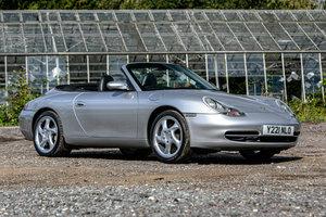 2001 Porsche 911 (996) Carrera 4 Cabriolet (Tiptronic S) For Sale