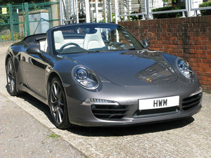 2012- PORSCHE 991 C2S CABRIOLET- GREY For Sale