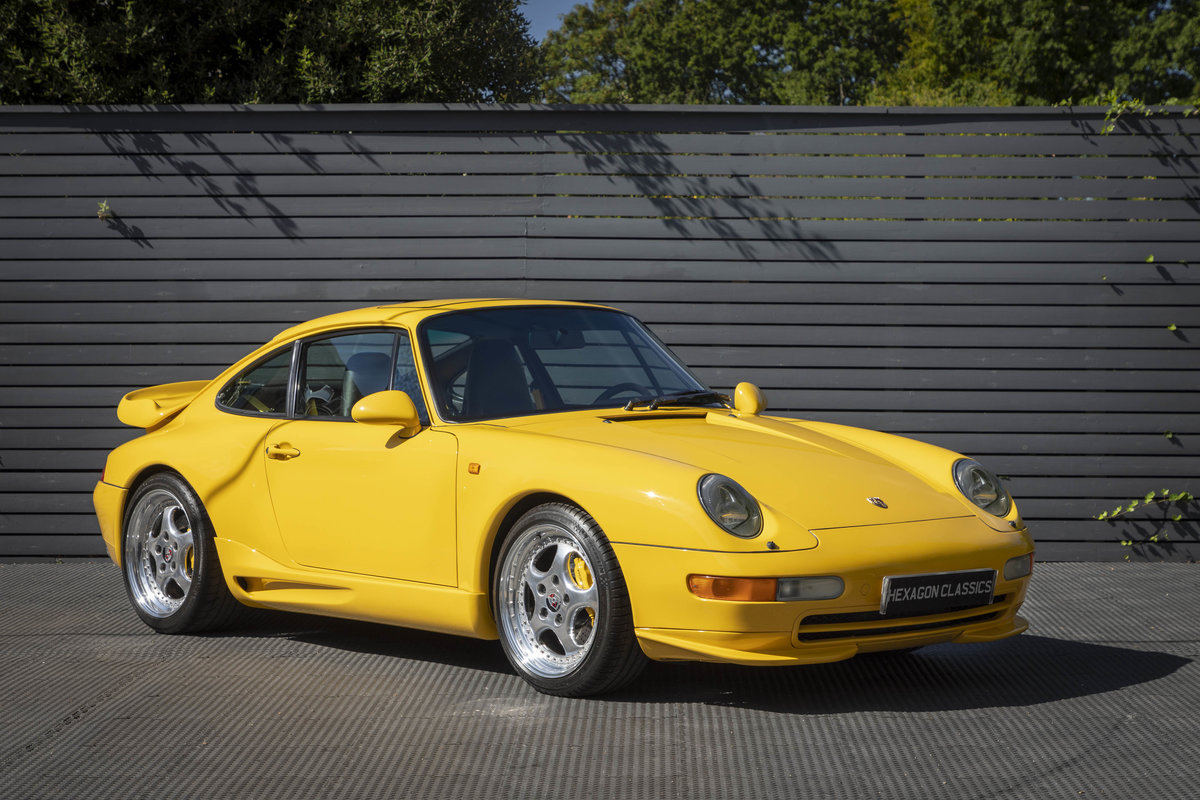 1996 PORSCHE 911 (993) CARRERA 2 LHD For Sale (picture 1 of 6)