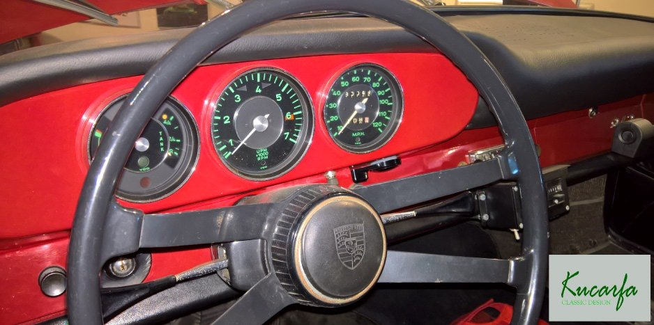 1965 Porsche 912 Matching Numbers 3 dials For Sale (picture 5 of 6)