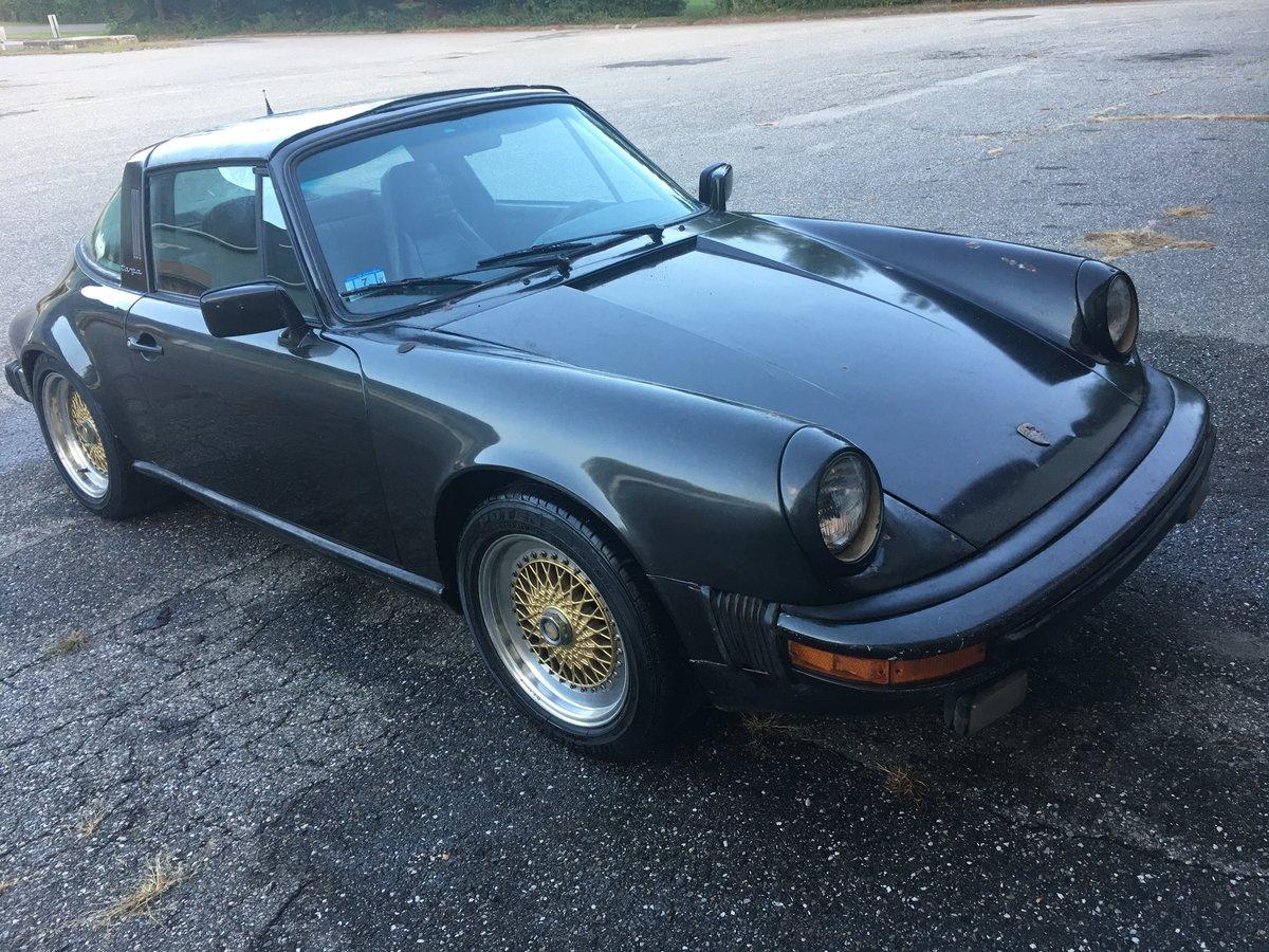 1983 Porsche 911 SC Targa 63000 miles.Needs Work For Sale (picture 1 of 6)
