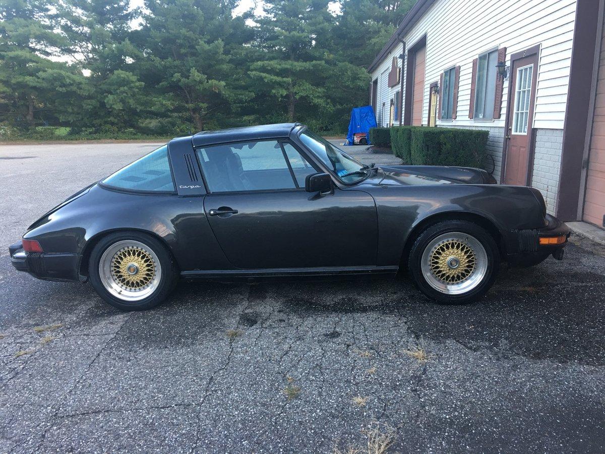 1983 Porsche 911 SC Targa 63000 miles.Needs Work For Sale (picture 2 of 6)