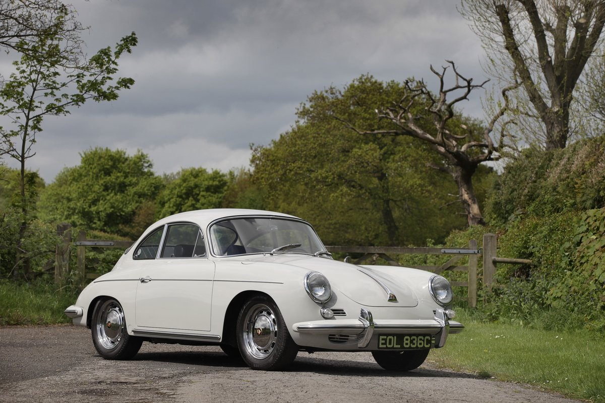 1964 Porsche 356SC coupe For Sale (picture 2 of 6)