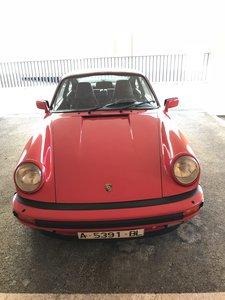 1988 Porsche 911 3.2 Carrera G50 versión Sport
