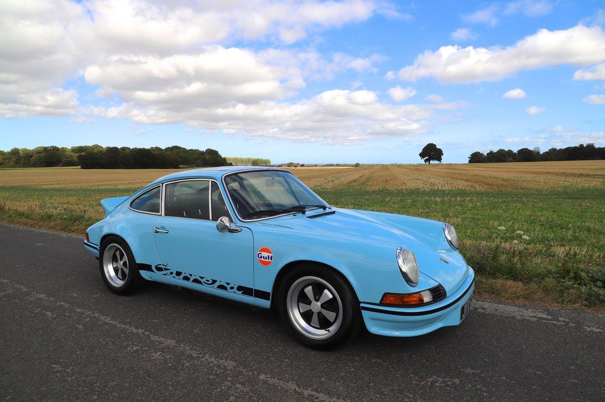 Porsche 911 3.2 Carrera 1986  (1973 2.7 RS recreation).  For Sale (picture 1 of 6)