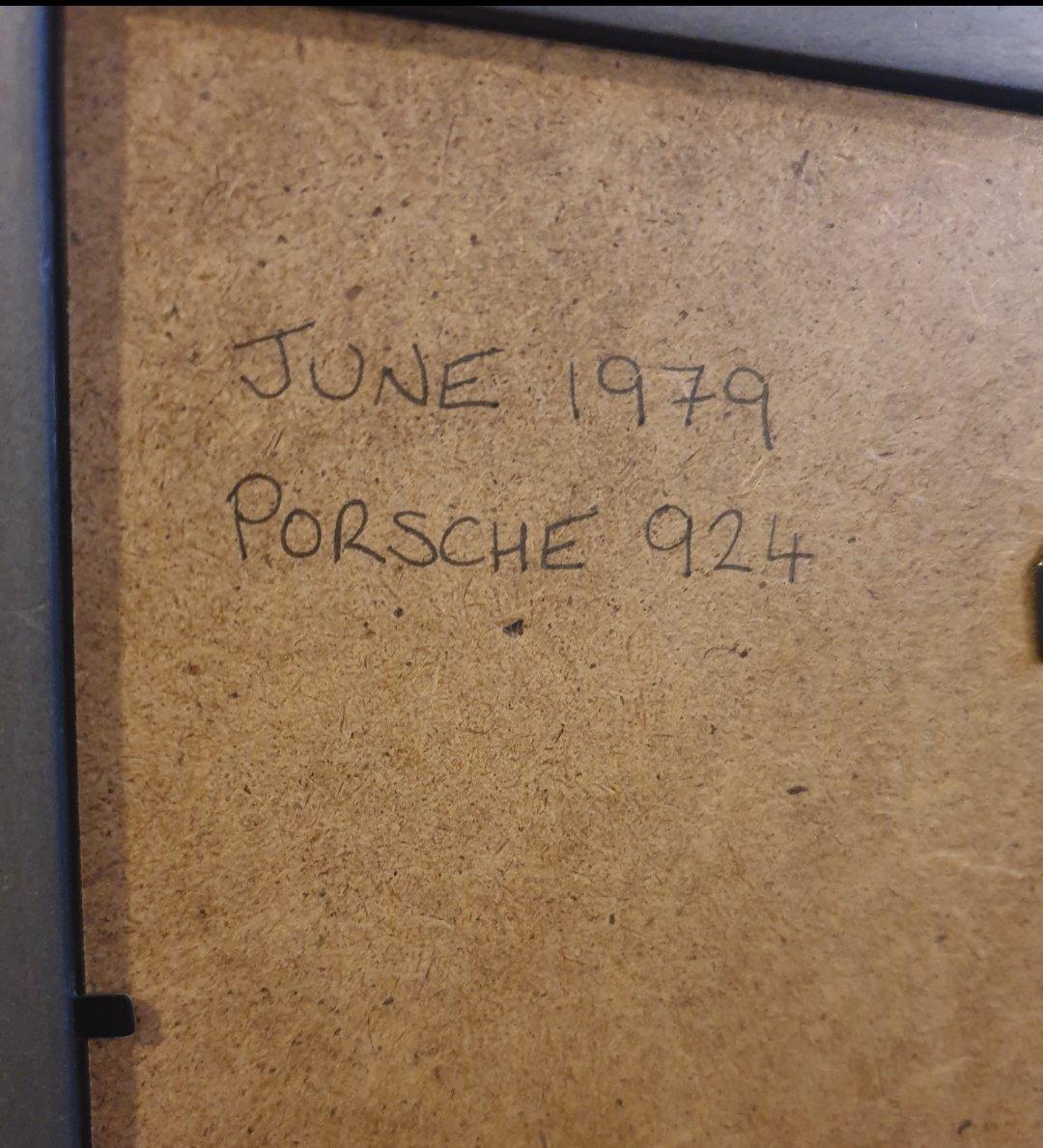1979 Original Porsche 924 advert For Sale (picture 2 of 2)