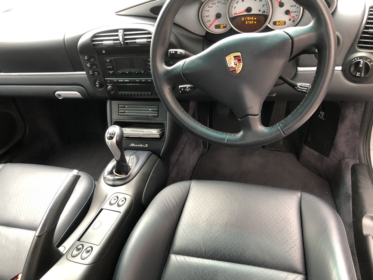 2003 Porsche Boxster S Very Low Mileage Manual For Sale (picture 4 of 5)