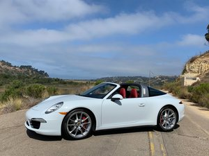 2015 Porsche 991 Targa 4S 400hp 7-Speed Manual  For Sale