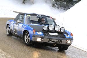1971 Porsche 914/6 Monte Carlo Historic Rally 2020 etc.