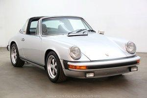 1975 Porsche 911S Targa Silver Anniversary Edition