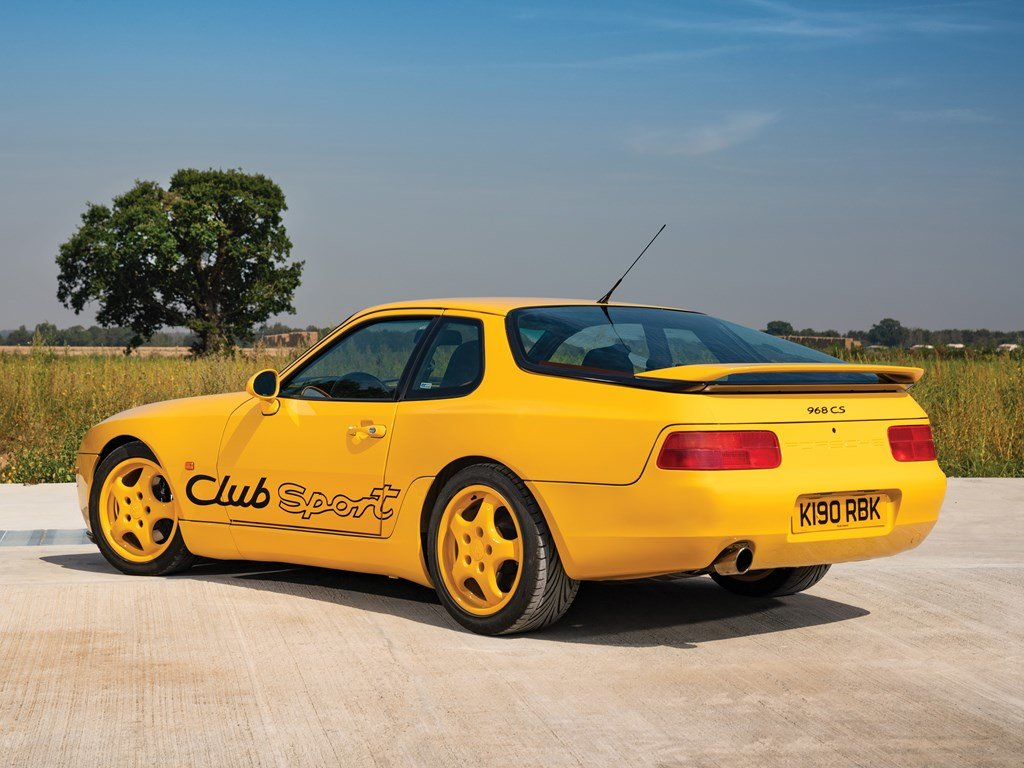 1993 Porsche 968 Clubsport  For Sale by Auction (picture 2 of 6)