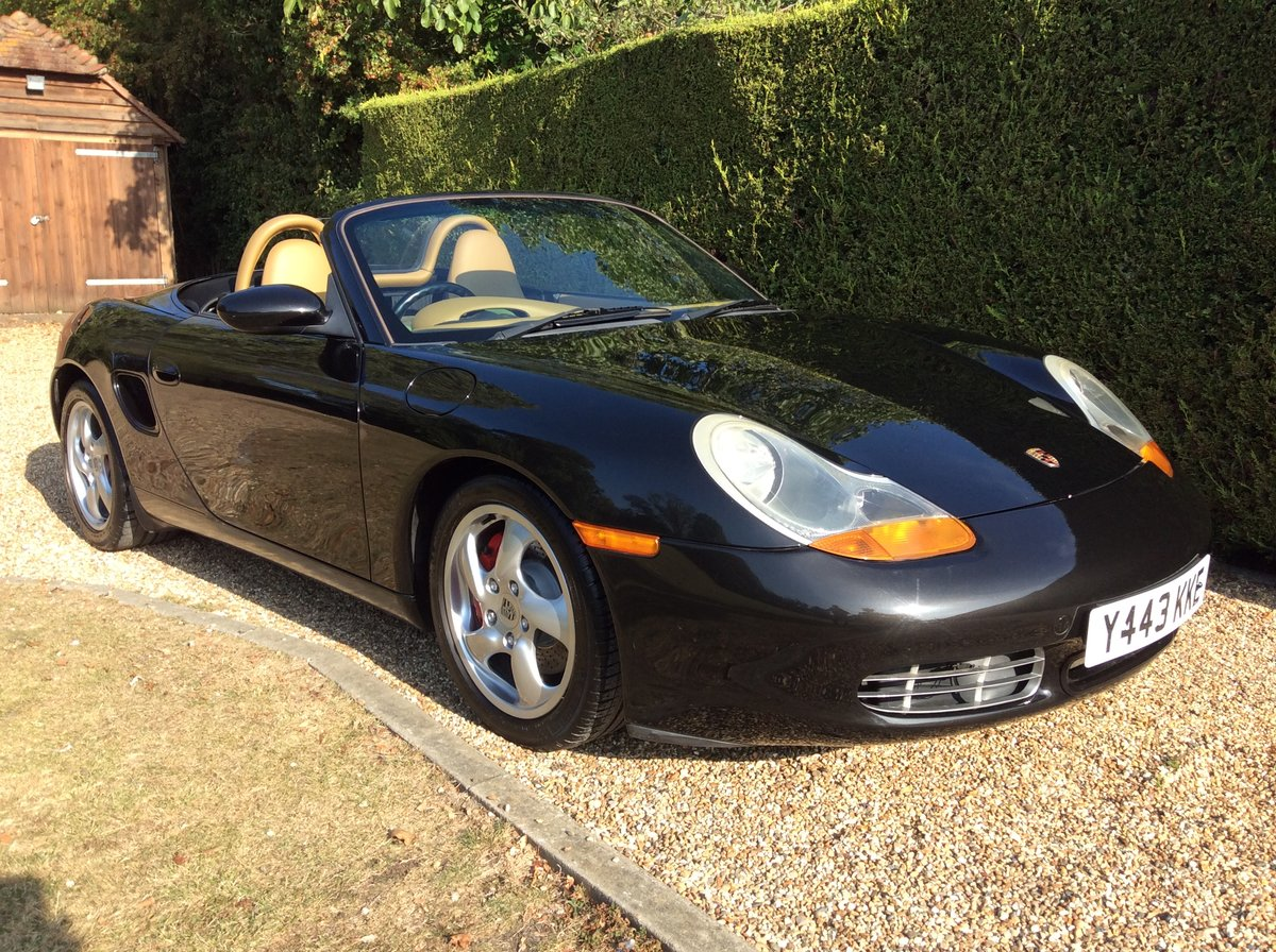 2001 Porsche 3.2 Boxster S Manual 6 Speed For Sale (picture 1 of 6)