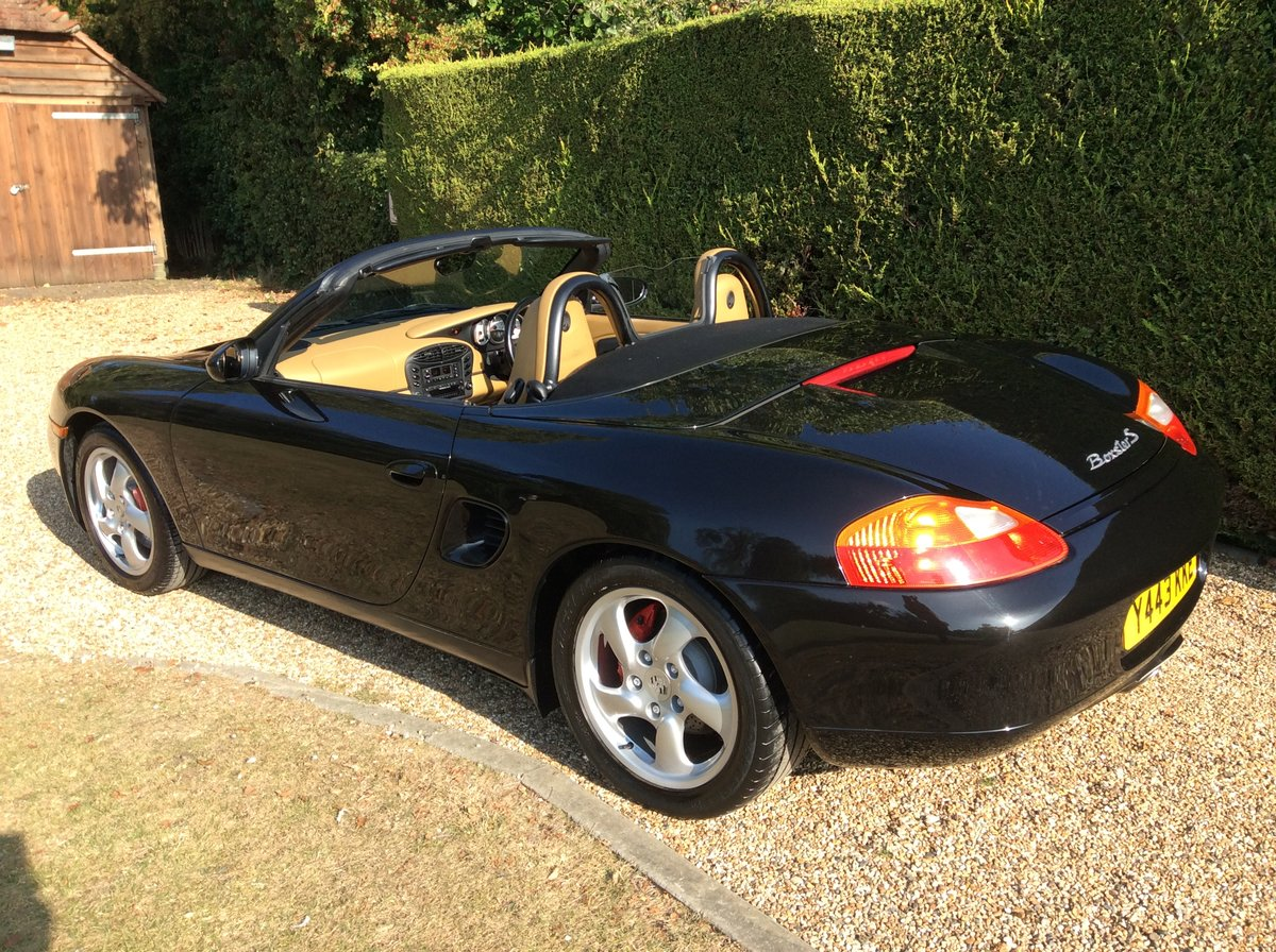 2001 Porsche 3.2 Boxster S Manual 6 Speed For Sale (picture 2 of 6)