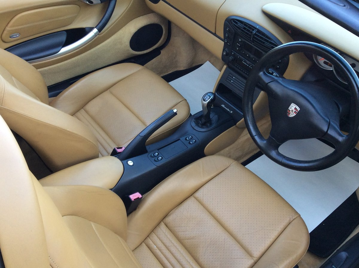 2001 Porsche 3.2 Boxster S Manual 6 Speed For Sale (picture 5 of 6)
