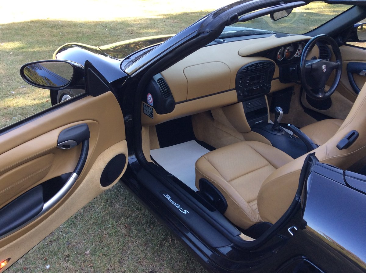 2001 Porsche 3.2 Boxster S Manual 6 Speed For Sale (picture 6 of 6)