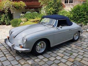 1960 Porsche 356 BT5 Roadster, German high-end restoration For Sale