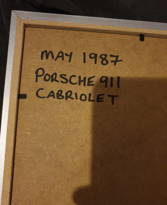 Original 1987 Porsche 911 Cabriolet Advert For Sale (picture 2 of 2)