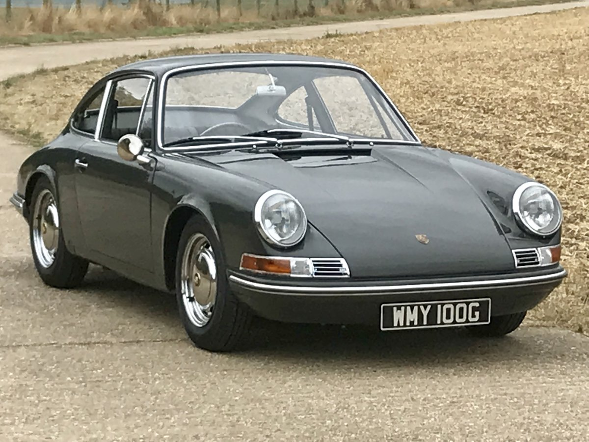Porsche 911 T 2.0 Sportomatic 1969 rhd Coupe Fully Restored. For Sale (picture 1 of 6)