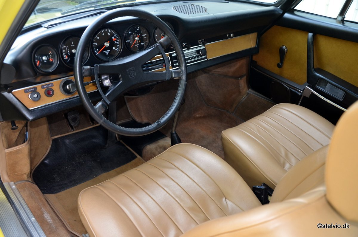 1972 Porsche 911 T 2.4 Pristine car with full matching numbers For Sale (picture 5 of 6)