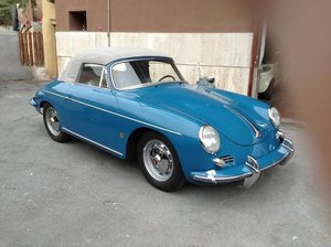 PORSCHE 356 B Roadster 1963 lhd -NUT & BOLT RESTORED !! For Sale