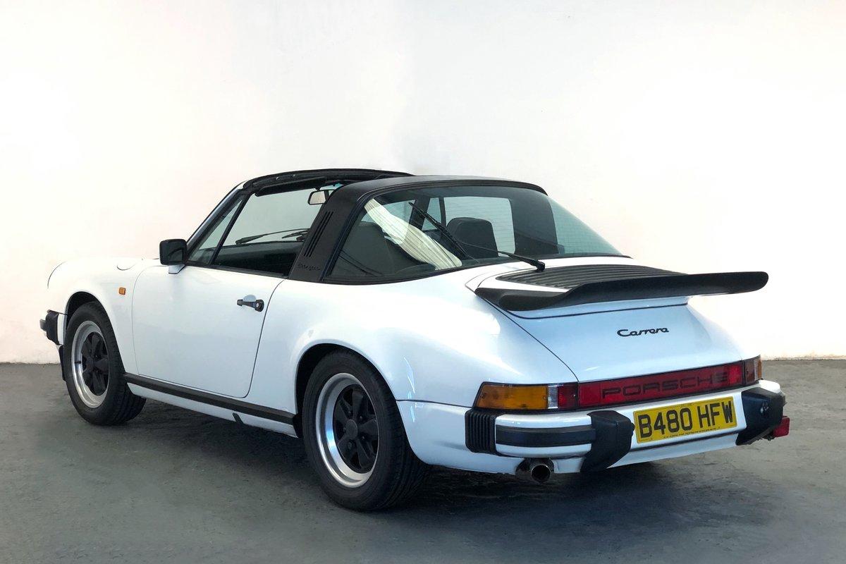 1984 Porsche 911 Carrera 3.2 Targa. Superb condition SOLD (picture 2 of 6)