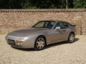 1988 Porsche 944 Turbo S 'Silver Rose' Edition M758 code.