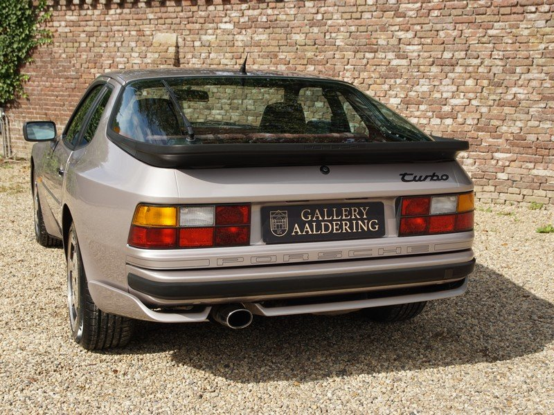 1988 Porsche 944 Turbo S 'Silver Rose' Edition M758 code. For Sale (picture 6 of 6)