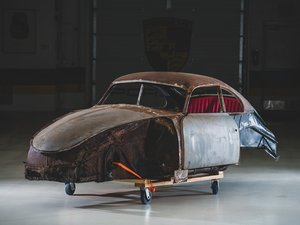 1951 Porsche 356 Split-Window Coupe Project  For Sale by Auction