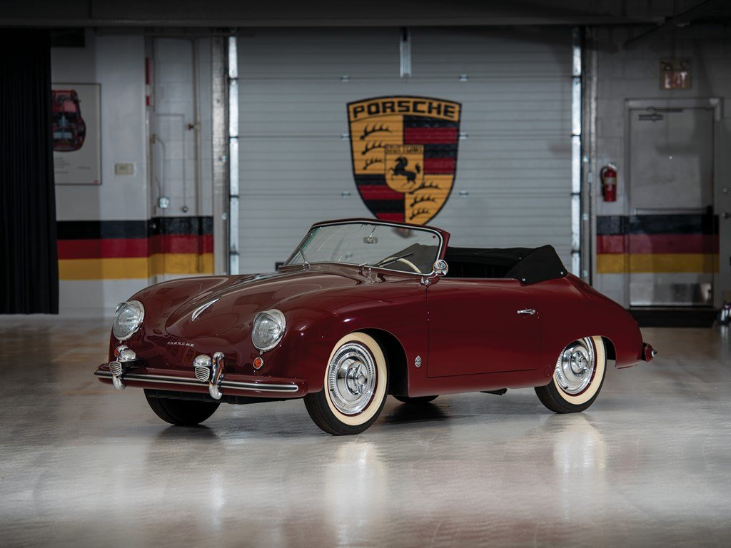 1952 Porsche 356 Cabriolet by Glser For Sale by Auction (picture 1 of 6)