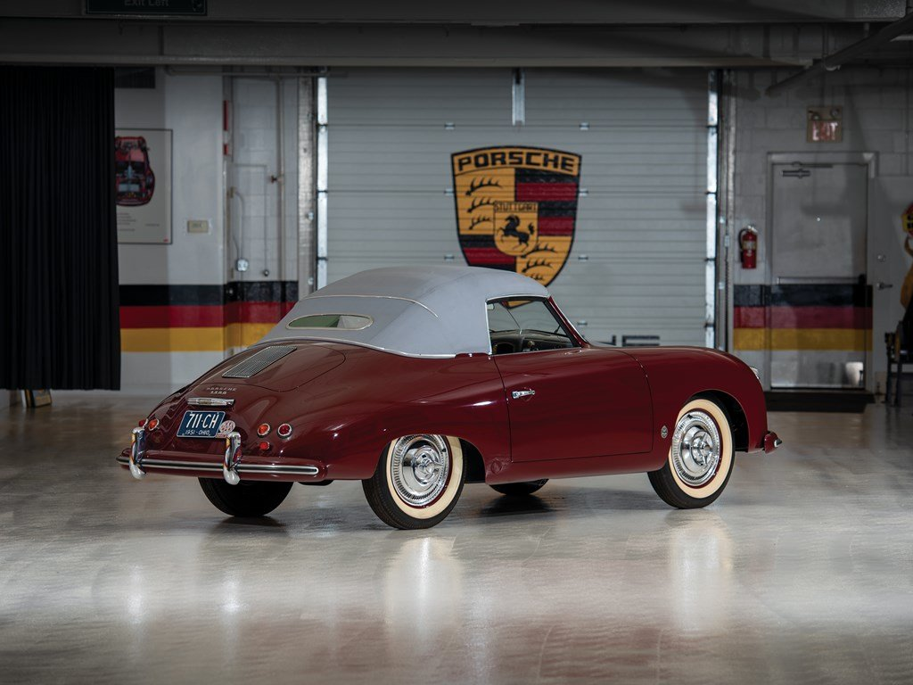 1952 Porsche 356 Cabriolet by Glser For Sale by Auction (picture 2 of 6)