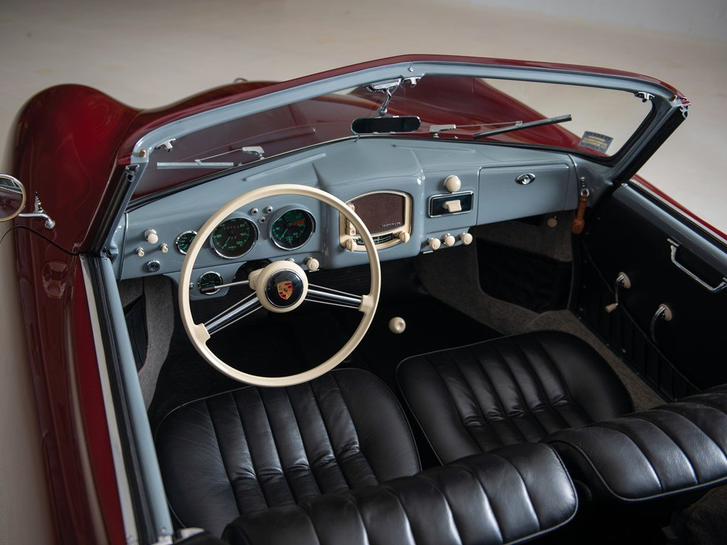 1952 Porsche 356 Cabriolet by Glser For Sale by Auction (picture 3 of 6)