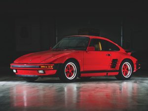 1988 Porsche 911 Turbo Flat-Nose Coupe  For Sale by Auction