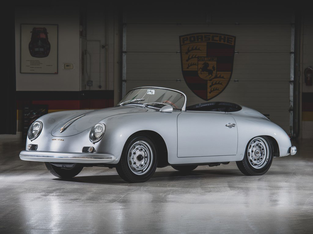 1957 Porsche 356 A Carrera GT Speedster by Reutter For Sale by Auction (picture 1 of 6)