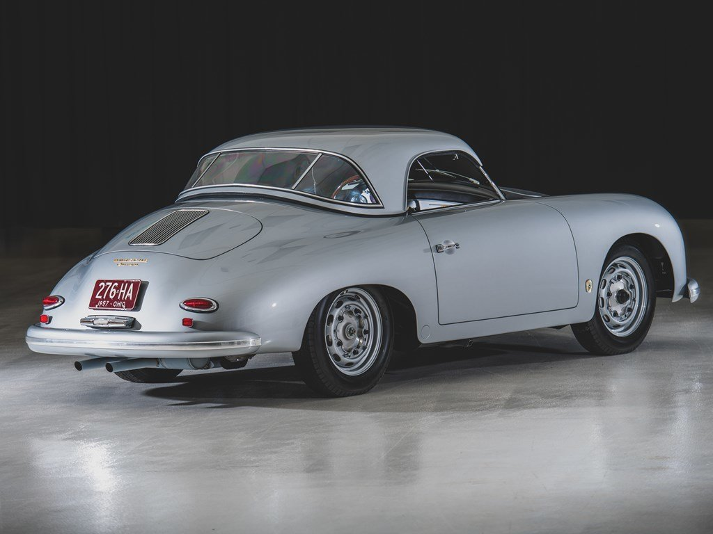 1957 Porsche 356 A Carrera GT Speedster by Reutter For Sale by Auction (picture 2 of 6)