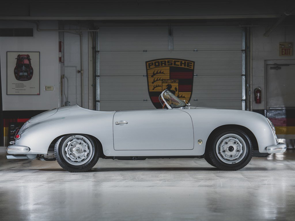 1957 Porsche 356 A Carrera GT Speedster by Reutter For Sale by Auction (picture 6 of 6)