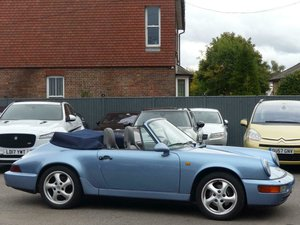 PORSCHE 964 CARRERA 2 TIPTRONIC CONVERTIBLE 1990 + ONLY 68K SOLD
