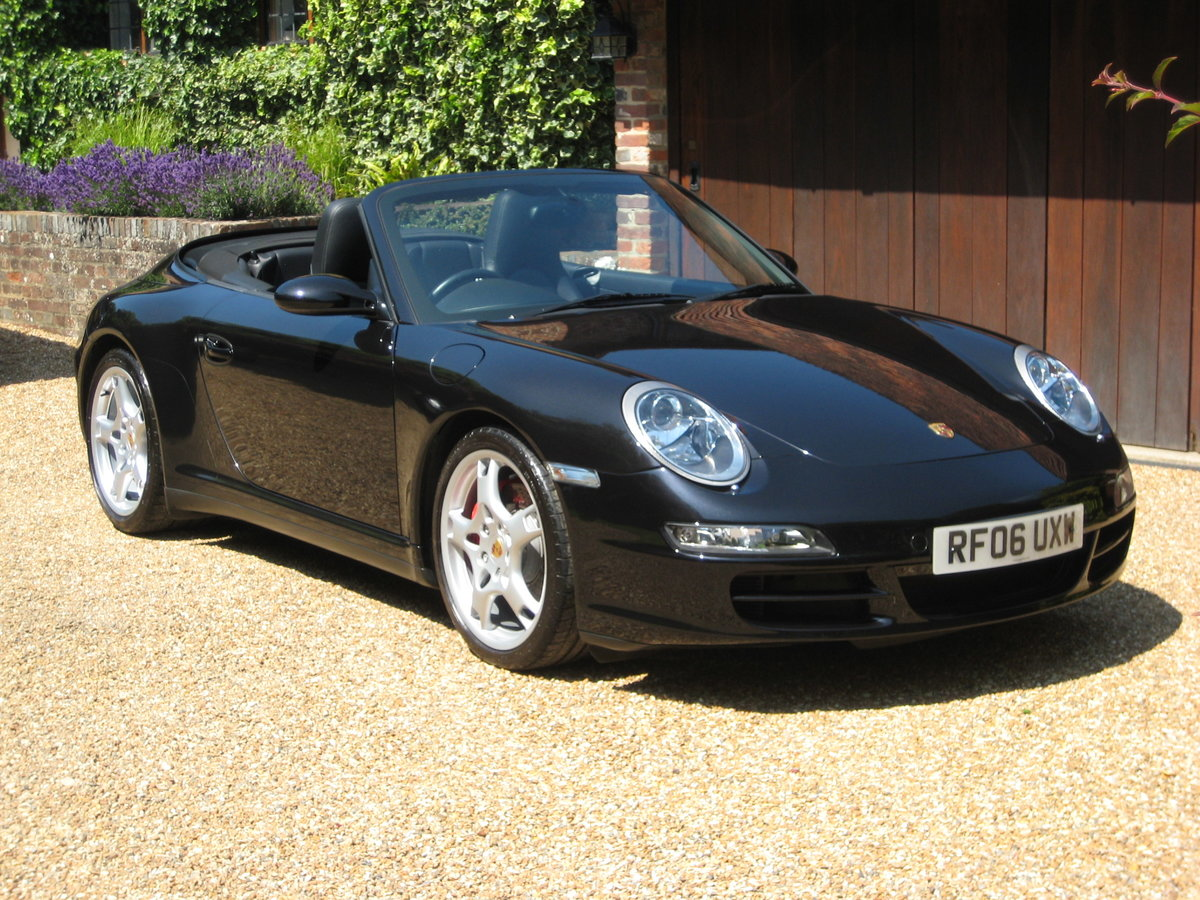 2006 Porsche 911 (997) 3.8 Carrera 4S With Only 25000 Miles For Sale (picture 2 of 6)