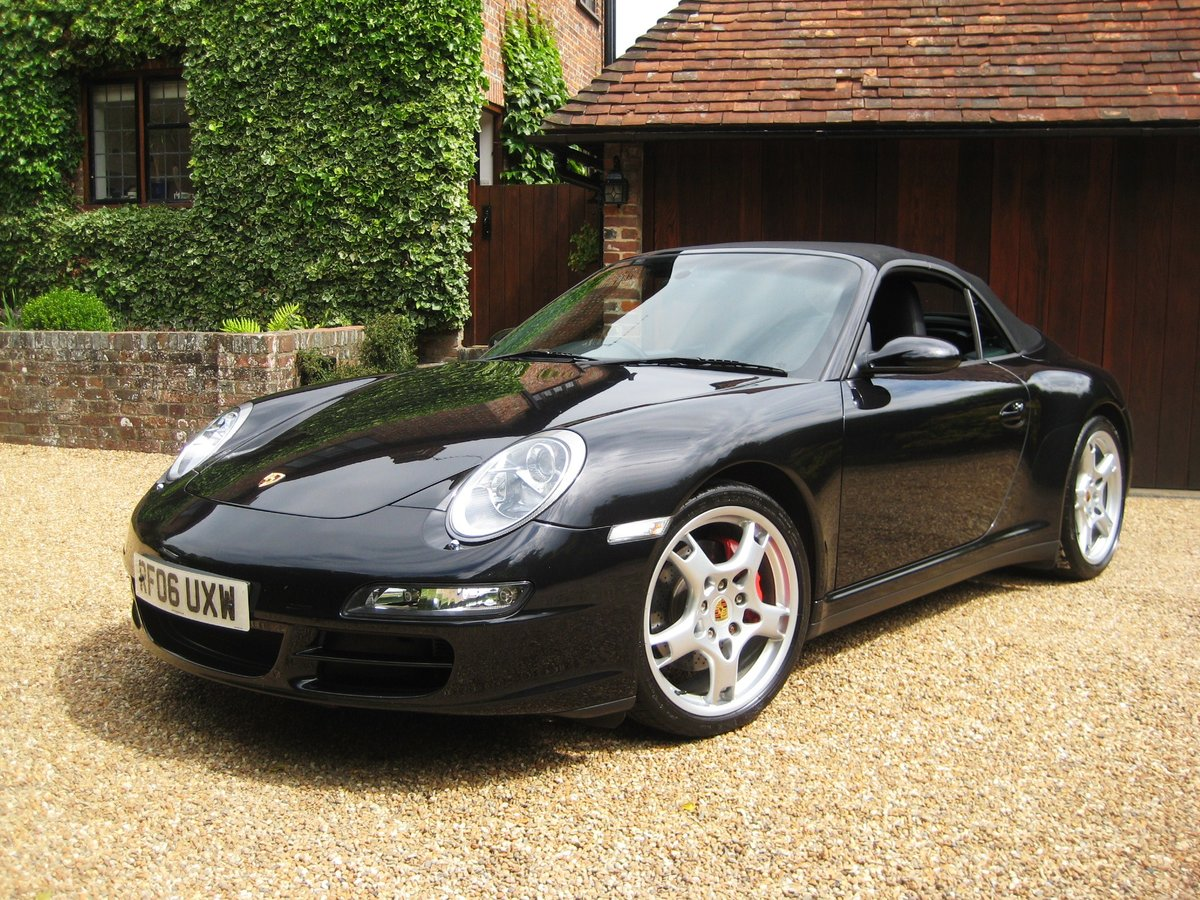 2006 Porsche 911 (997) 3.8 Carrera 4S With Only 25000 Miles For Sale (picture 1 of 6)