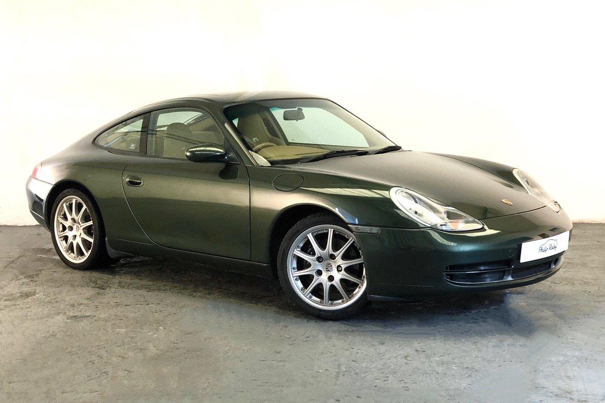 1999 Porsche 996 Carrera Tiptronic. Rare colour, great condition SOLD (picture 1 of 6)