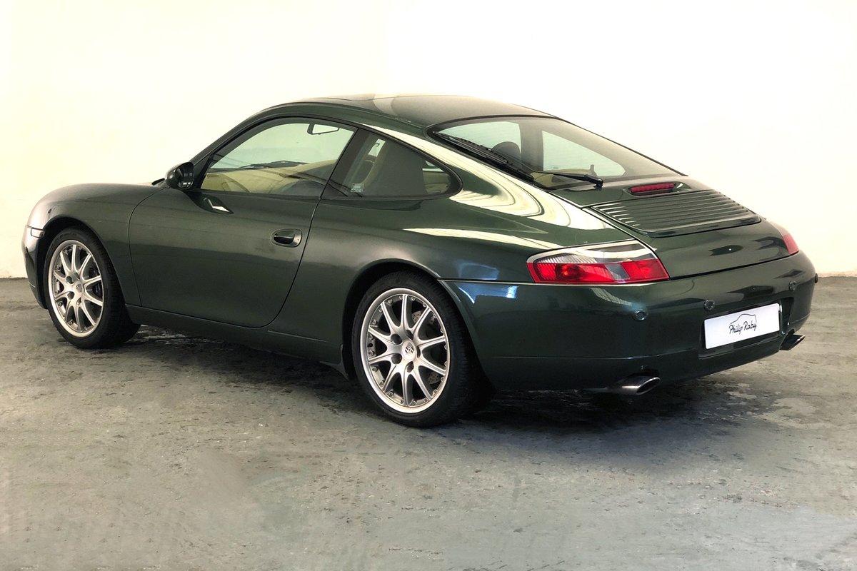1999 Porsche 996 Carrera Tiptronic. Rare colour, great condition SOLD (picture 2 of 6)